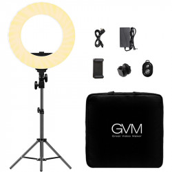 "GVM Ring Light 14"" Bi-Color LED  97+ CRI HD-14S"