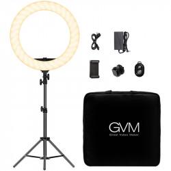 """GVM Ring Light 18"""" Bi-Color LED  97+ CRI HD-18S"""