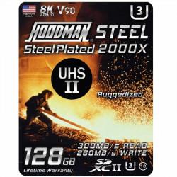 Hoodman SDXC 128GB V90 8K UHS-II U3 Lectura 300MB/s / 256MBs