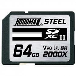 Hoodman SDXC 64GB V90 8K UHS-II U3 Lectura 300MB/s / 256MBs