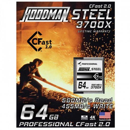 Hoodman CFast 64GB Tarjeta 2.0 HSCFAST64