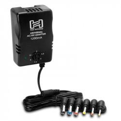 Hosa Adaptador de corriente universal hasta 12V