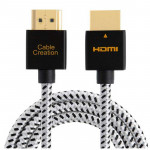Cablecreation Cable 3mts HDMI a HDMI 2.0 delgado