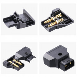 Conector D-Tap para cable 18AWG Dtap / Ptap / P-tap