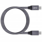 QCEs Cable corto USB-C a USB-C de 50 cm