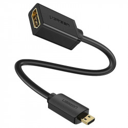 Ugreen Cable Micro HDMI macho a HDMI standard female (hembra) 4K
