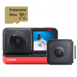 "Insta360 Kit ONE R Cámara VR 360° 4K ""Action Camera Twin Edition con 64GB"