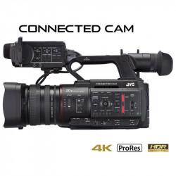 "JVC GY-HC550 1"" 4KCAM Cámara Broadcast Streaming LAN Inalámbrica"