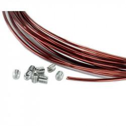 Kino Flo Kit de Reparacion en Silver colored wires 9.1 Mts
