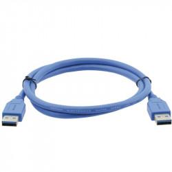 Kramer Cable USB SuperSpeed USB 3.0 Tipo A a macho Tipo A de 1.8mts