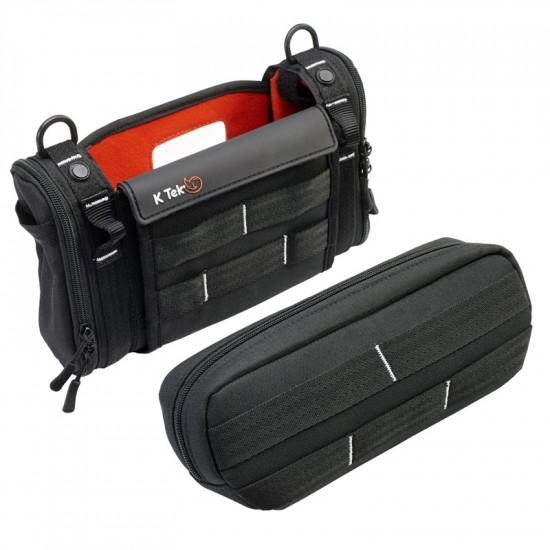K-Tek Stingray KSTGMIX Bolso para MixPre-3 / 6 Tascam DR-70D Zoom F4 y F8