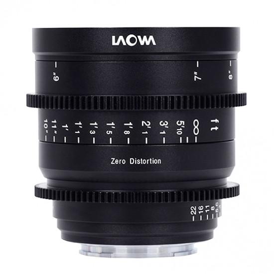 Venus Optics Laowa Prime 15mm T2.1 Zero-D Cine Lens (Sony E)