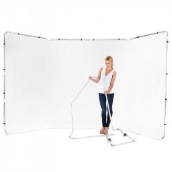 Lastolite Fondo Panorámico Blanco Backdrop 2.3 x 4 mt. LB7623