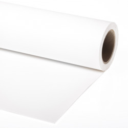 Lastolite Fondo de Papel Super Blanco para backdrop de 1,37  x 11 mts  LP9101