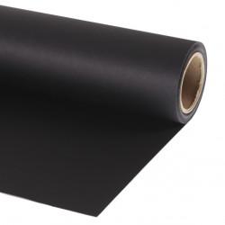BD 1.32 Fondo de Papel Negro para backdrop de 1,32  x 11 mts  P11135