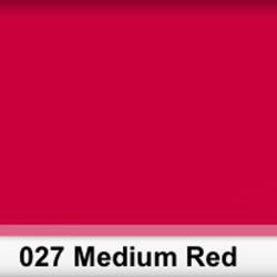 Lee Filters  027S Pliego Medium Red 50cm x 60 cm