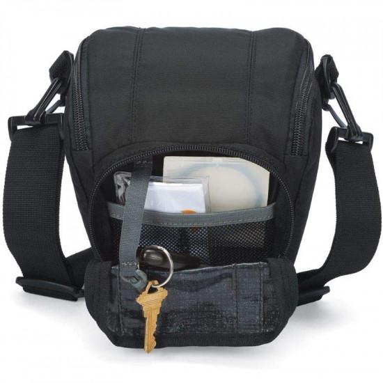 Lowepro Toploader Zoom AW II - Funda para cámara réflex digital y lente
