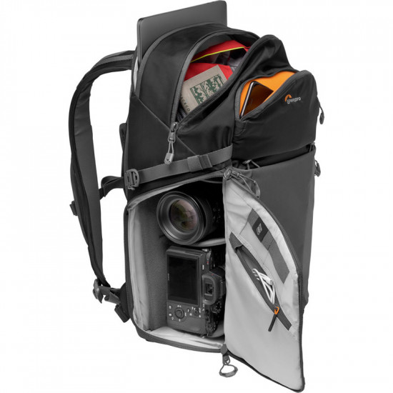 Lowepro Photo Active BP 300 AW (Black/Grey) Mochila Sport para cámara 25L