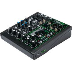 Mackie ProFX6v3 Mixer de Audio de 6 Canales / 2 Mic