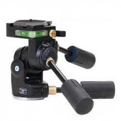 Manfrotto 229 Cabezal Rótula 3D Súper Pro hasta 12Kg.