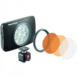 Manfrotto MLUMIEMU-BK Lumimuse 8 On-Camera LED Light