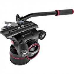 Manfrotto Nitrotech N8 Cabezal de Video hasta 8Kg Flat base