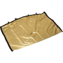 "Matthews Road Rags II Gold Lame para Bandera 60cm x 90cm (24""x36"")"