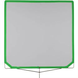 "Matthews Single Black Bandera Frame Scrim 120cm x 120cm (48""x48"")"