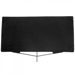 "Matthews Bandera de Corte Black Flag 60cm x 120cm  (24""x48"")"