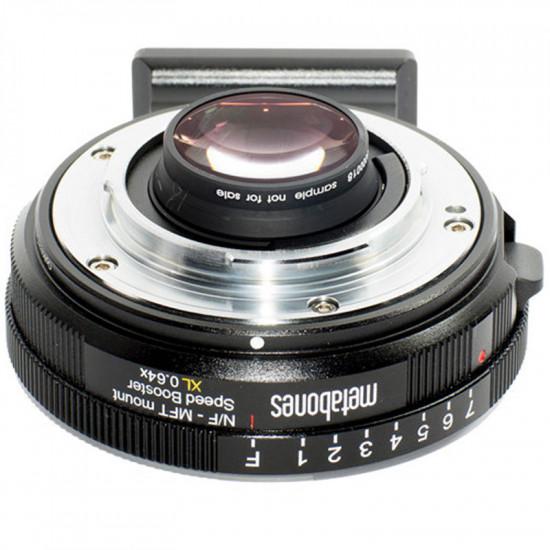 Metabones Adaptador de Lentes Nikon G  a Micro 4/3 Speed Booster XL 0.64x