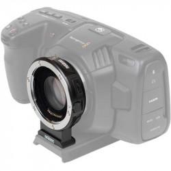 Metabones SPEF-m43-BT9 Pocket 4K Adaptador de Lentes EF a Micro 4/3 Speed Booster XL 0,64x