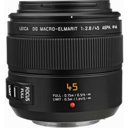 Panasonic Lente Lumix DG Macro-Elmarit 45mm f/2.8 ASPH. MEGA O.I.S.