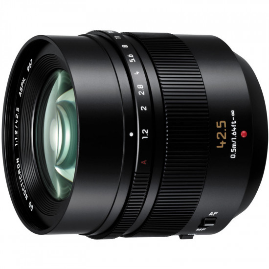 Panasonic Lente Leica DG Nocticron 42.5mm f / 1.2 ASPH. Lente POWER OIS