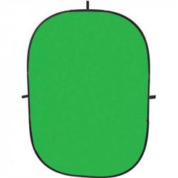 Angler Chroma Fondo Colapsable de Tela Verde Chromakey de 1.5 x 2.1 mts