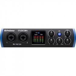PreSonus Studio 24C Interface de audio / MIDI USB-C 2x2