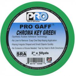 "Protapes PG2CHROMA Gaffer Chroma Key 2"" green Croma 45 MTS"