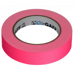 """Protapes PG1FLX25PINK Gaffer Mate Compact 1 """" x 25 Yardas PINK Fluorescente"""