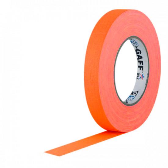 "Protapes PG1FLORG Gaffer Mate Original en 2,54cm / 1 "" de ancho Orange (Naranjo) Fluorescente"