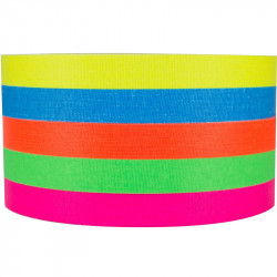 """Protapes PRO XL Spike stack Cinta 1/2"""" Fluorescente 5 Colores 18.2metros"""