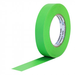 "Protapes PG1FLX20GREEN Gaffer Mate Compact 1 "" x 20 Yardas VERDE Fluorescente"