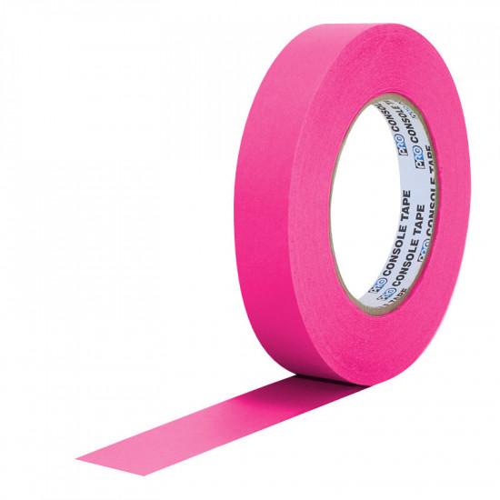 """Protapes PG1FLX20PINK Gaffer Mate Compact 1 """" x 20 Yardas PINK Fluorescente"""