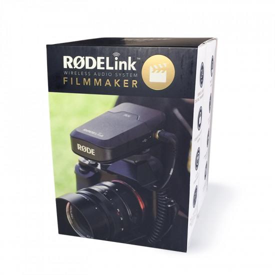 Rode RODELINK Kit Lavalier Inalambrico RodeLink Filmmaker Kit con maleta SKB