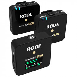 Rode Wireless GO II  2-Person Sistema de micrófonos inalámbricos
