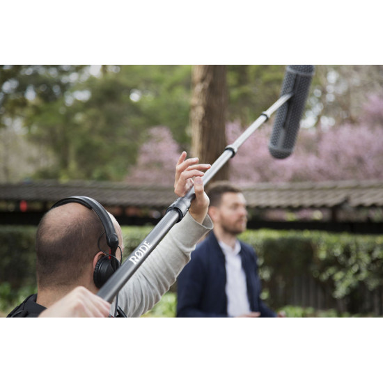 Rode Boompole Pro caña de fibra de carbono para audio de 3mts
