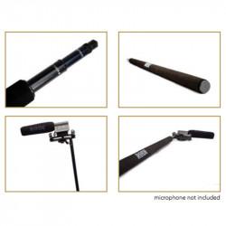 Rode Micro Boompole de aluminio 3 secciones para audio de 2,13mts