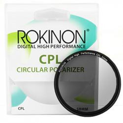 Rokinon Filtro 58mm Polarizador Circular Polarizer
