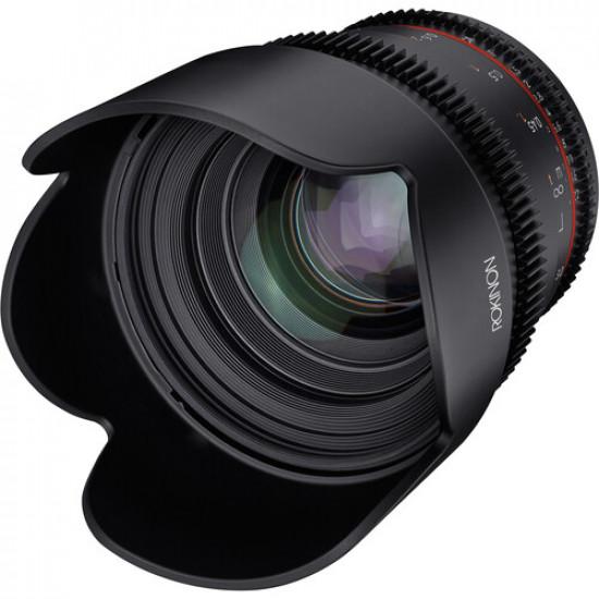 Rokinon Lente DSX Cine High-Speed 50mm T1. para Canon