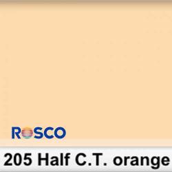 Rosco 205R Rollo 1/2 C.T.Orange 1,22 x 7,62 mts