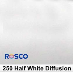 Rosco 250R Rollo 1/2 White Diffusion 1,22 x 7,62 mts