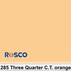 Rosco 285S Pliego 3/4 C.T.Orange 50cm x 60 cm